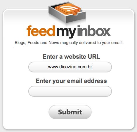 FeedMyInbox Screen