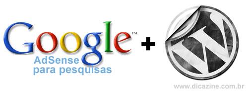 Como colocar 'Google Adsense para pesquisas' dentro do seu blog