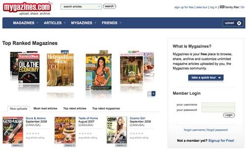 Leia revistas online de graça