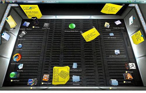 BumpTop: Conheça o desktop 3D
