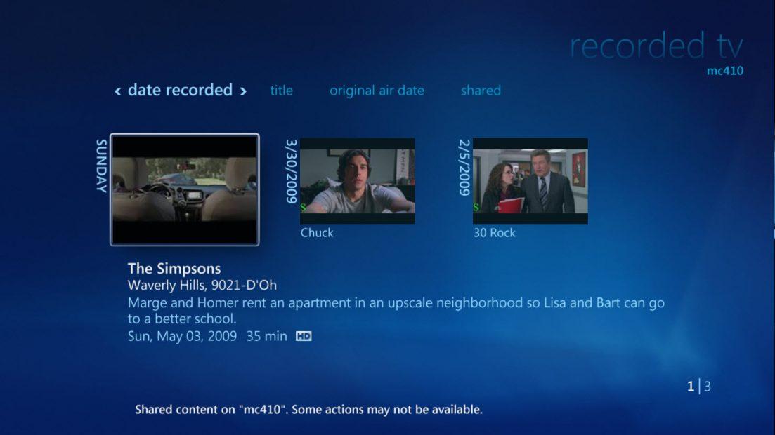 Compartilhamento de Tv em uma rede