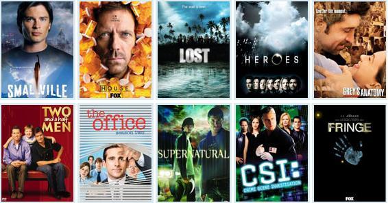 Assista suas séries favoritas online!
