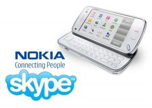 O Skype agora no seu Nokia!