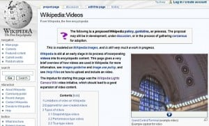 Wikipédia para vídeos