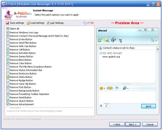 A-Patch MSN 2009