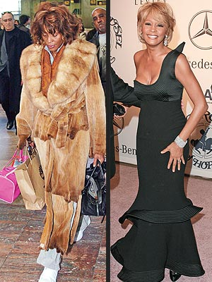 Whitney Houston vestidos