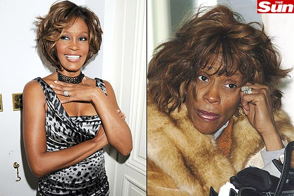 Whitney Houston e as drogas