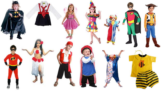 Fantasias de Carnaval Infantil - Fotos, Como Fazer e Comprar