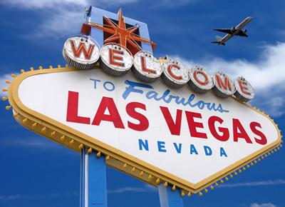 Placa Bem Vindo a Las Vegas - Nevada (Foto: Reprodução)