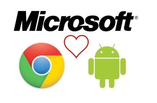 Microsoft Lucra com Android