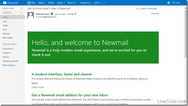 Hotmail de cara nova e até nome novo?
