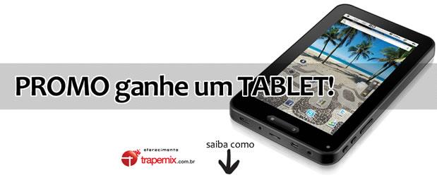Promoção do Novo Dicazine: ganhe um TABLET da Trapemix