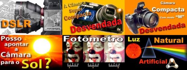 Curso Grátis de Fotografia (Imagem: Captura dos Vídeos)
