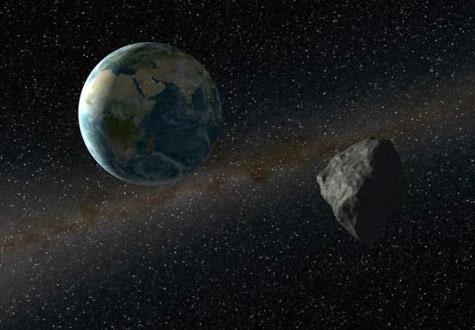 Asteroide Ameaça se Chocar com a Terra