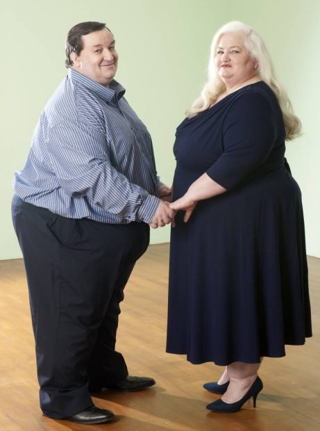 STEPHEN BEER AND WIFE MICHELLE BEER. PICTURED FOR SARAH VINE INTERVIEW. The couple have featured on TV documentary: Too Fat To Work. PICTURES MURRAY SANDERS