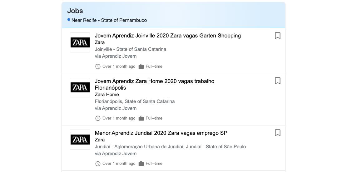 Programa Jovem Aprendiz Zara: como fazer o cadastro