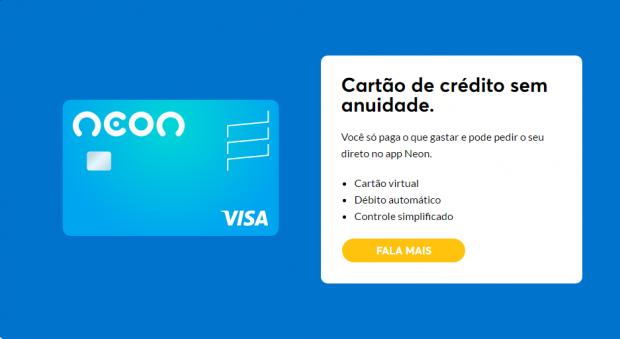 Cartão de crédito banco NEON - Saiba como Solicitar!