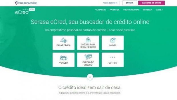 site do serasa ecred