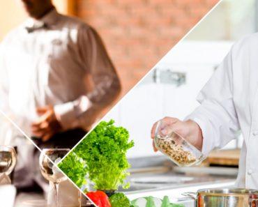 Cozinheiro no Senac