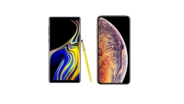 As diferenças entre o Galaxy Note 9 e o iPhone XS Max