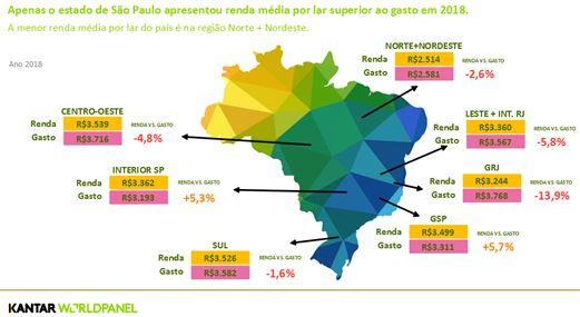 Busca por renda informal e aumenta de dívidas crescem no Brasil