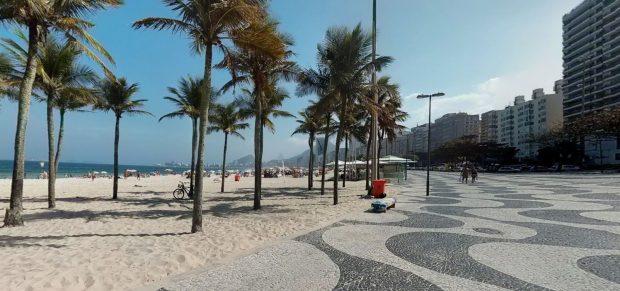 Exposição sobre epidemias foi apresentada na Praia do Leme