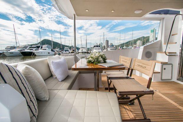 Veja o iate de luxo de 17 metros que será exposto no Rio de Janeiro