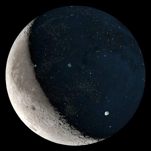 Impressionante: lado oculto da lua tem 190º C negativos