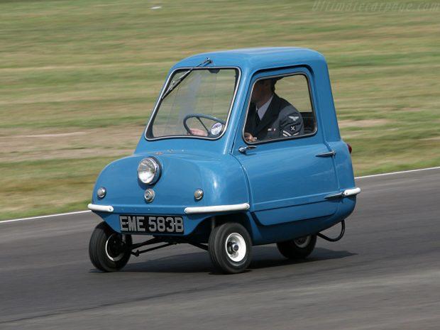Os 10 menores carros do mundo!