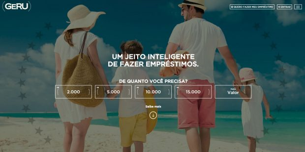 Empréstimo online Geru - Como simular e solicitar