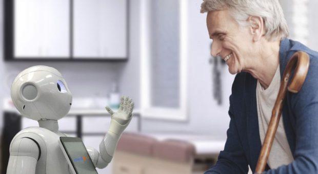 Tecnologia para idosos como robôs e sensores auxiliam os idosos