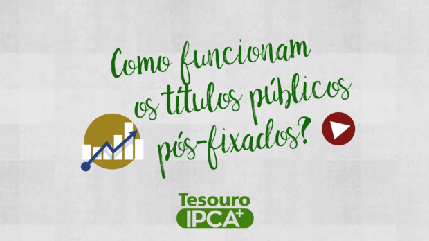 Destacar os Títulos Pós-Fixados Tesouro IPCA+