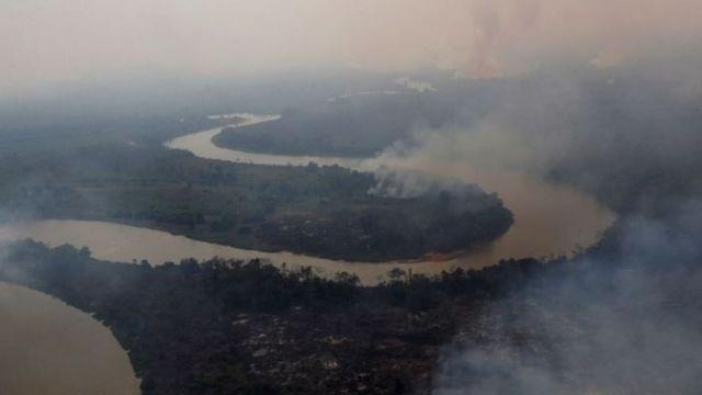 Veja como a queimada do Pantanal pode afetar outros estados brasileiros