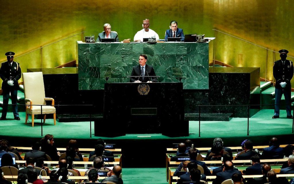 Bolsonaro discursa na ONU - Confira os pontos principais