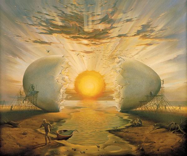 As teorias do surgimento do mundo sem pé nem cabeça