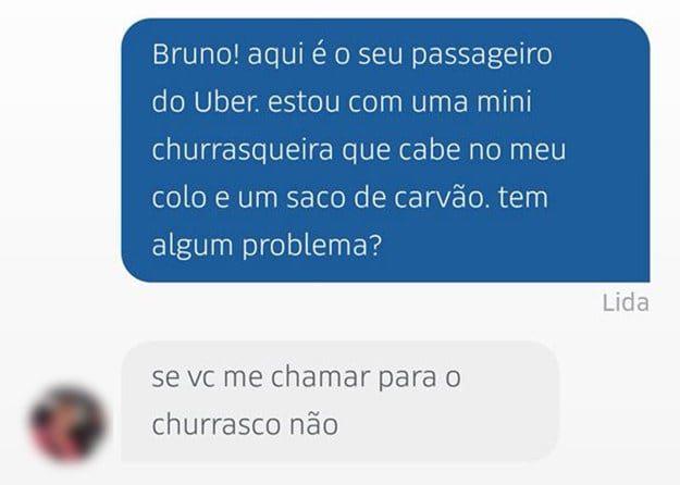 37 conversas muito engraçadas com motoristas Uber