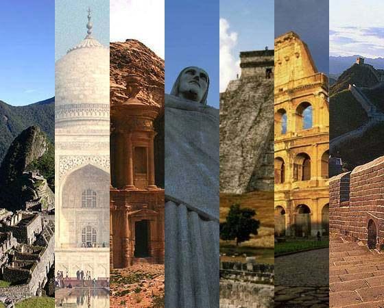 Você sabe quais são as 7 maravilhas do mundo moderno?